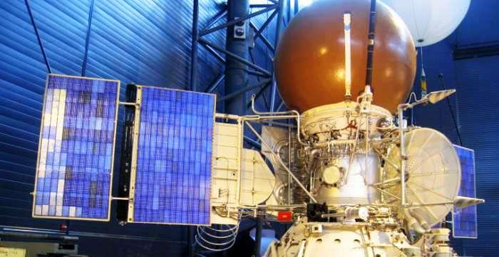 Давление 90 атм, при температуре 455 °C Станция Венера 9