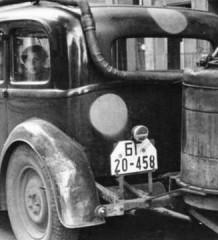 Дрова как топливо для автомобилей и вездеходов