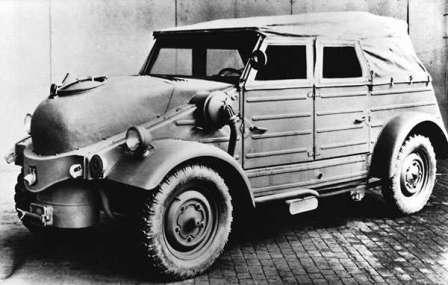 Дрова как  топливо для автомобилей и вездеходов. Промышленный Volkswagen Type 82 на дровах