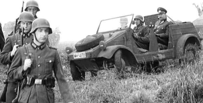 Жук с повышенной проходимостью. Volkswagen Typ 82 Kubelwagen