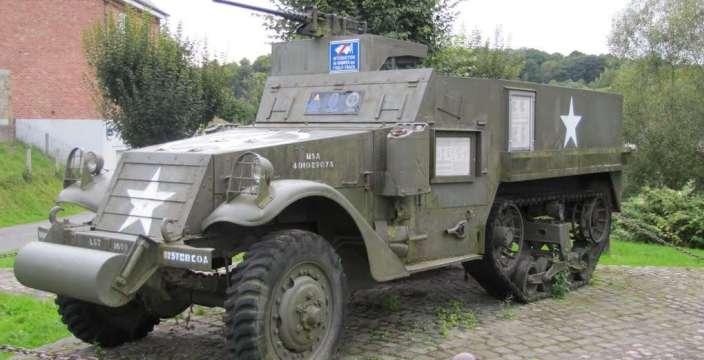 ЗСУ от Янки отлично дополняли 34-ки Красной Армии. БТР М3А1