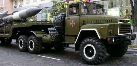 Зав.Гар или Нач.Тех - в СССР по необходимости. КрАЗ-250 ракетоносец
