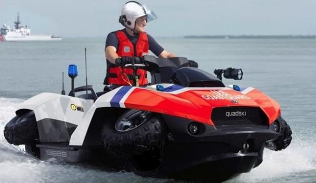 Земноводные - Quadski и Quadski XL от GIBBS SPORTS AMPHIBIANS - большая скорость на суше и воде