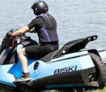 Земноводный мотоцикл Gibbs Amphibians Biski Amphibious Motorcycle