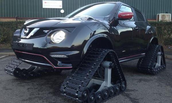 Инженеры Nissan сделали из Juke Nismo RS гусеничный внедорожник