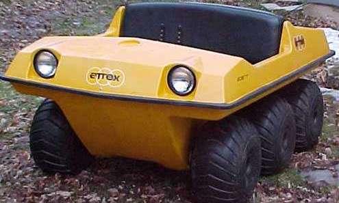 История ATV All Terrain Vehicle - транспортное средство для езды по всем поверхностям. Аттех ATV 1971