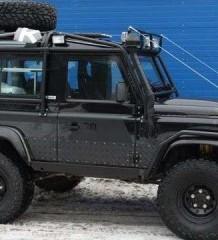 Командный Кубок Гео-рейд. Land Rover Defender 90