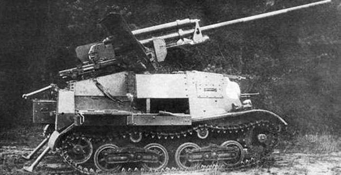 Комсомолец - молодец. Самоходная артиллерийская установка ЗиС-30 на базе тягача Т-20 Комсомолец