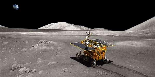 Кролик вездеход Yutu открыл новые тайны Луны