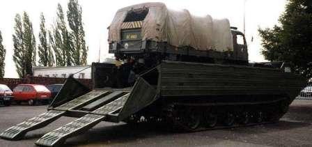 К-61 Гусеничный-плавающий транспортер. Гражданское применение