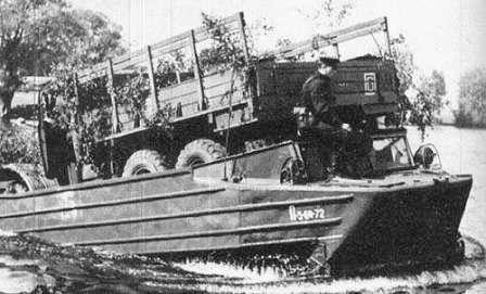 К-61 Гусеничный-плавающий транспортер. На службе армии ГДР.