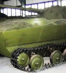 К-90 прототип плавающего танка