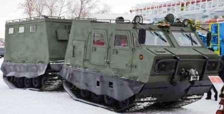 Ледоруб Рубцовский. ДТ-4П многозадачная машина