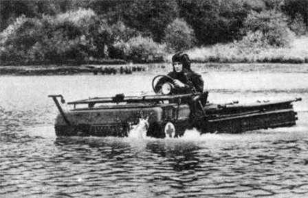 ЛуАЗ-967 - Транспортер переднего края. Амфибия