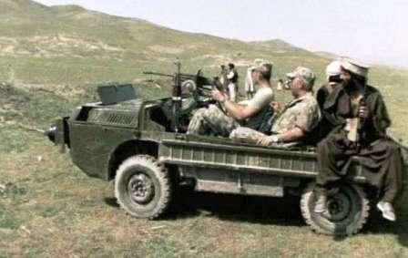 ЛуАЗ-967 - Транспортер переднего края. Ограниченный контингент Советских войск в Афганестане