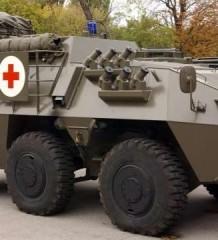 Мадам Де Помпадур в броне. Pandur санитарно-эвакуационная машина переднего края