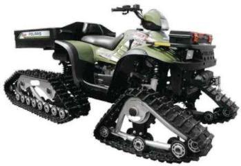 Мотовездеходы мир без преград ATV на гусиничном движителе