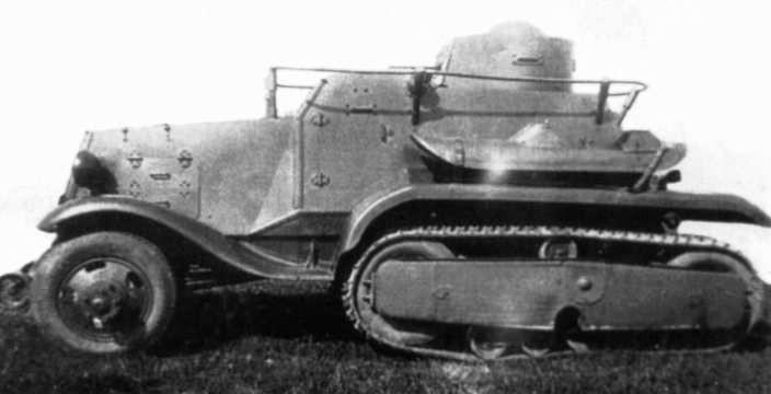 Неизвестный солдат БА-30 НАТИ