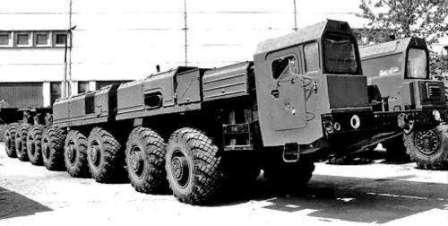 Немного о Бизоне. МАЗ-7923 Бизон