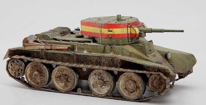 Не танк, а песня. БТ-5 лёгкий колёсно-гусеничный танк