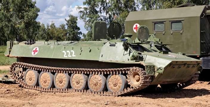 Объект 10 - МТ-ЛБу - надежный тыловик. Санитарно-эвакуационная машина