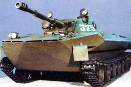 Ордена Ленина Сталинградский-Волгоградский тракторный завод - флагман Советского вездеходостроения. ПТ-76 Легкий плавающий танк