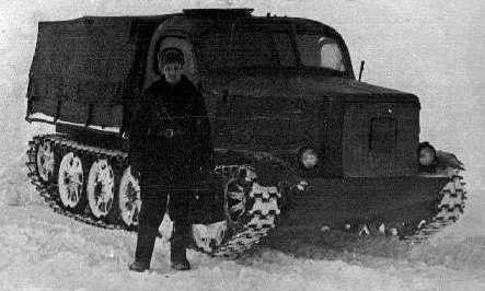 От Бога Войны до покорителей Антарктики. Легкий тягач АТ-Л в Арктике