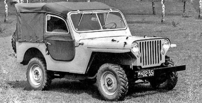 Первый, отечественный, гражданский Джип Москвич-2150 АЗЛК. Копия американского Виллиса