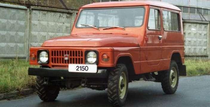 Первый, отечественный, гражданский Джип Москвич-2150 АЗЛК