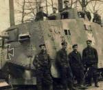 Первый Pfannkuchen - комом. Танк A7V