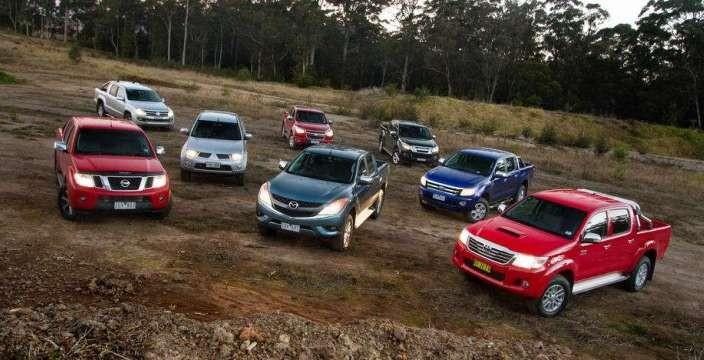 Пикапы-пикапы-пикапы. Toyota Hilux, Nissan Navara, Volkswagen Amarok