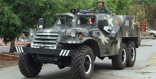 Послевоенный, не полноценный.  БТР-152 на службе во Вьетнамской Армии
