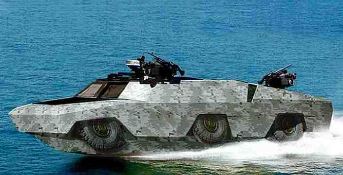 Проверено Водой. Военные амфибии, развитие, новинки. Humdinga Lockheed Martin