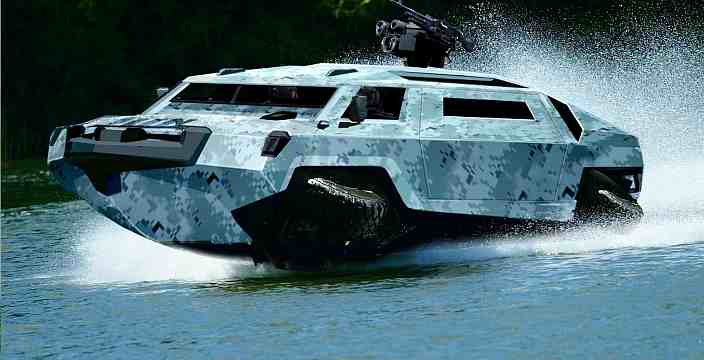 Проверено Водой. Военные амфибии, развитие, новинки. Humdinga Lockheed Martin amphibious