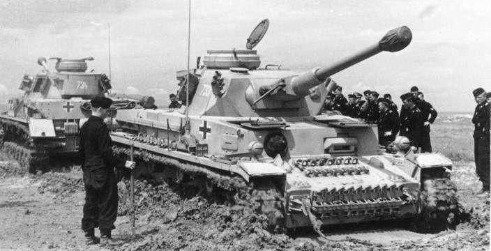 Против Т-34. Panzerkampfwagen IV