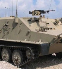 Пятидесятники. БТР-50 в армии Израиля