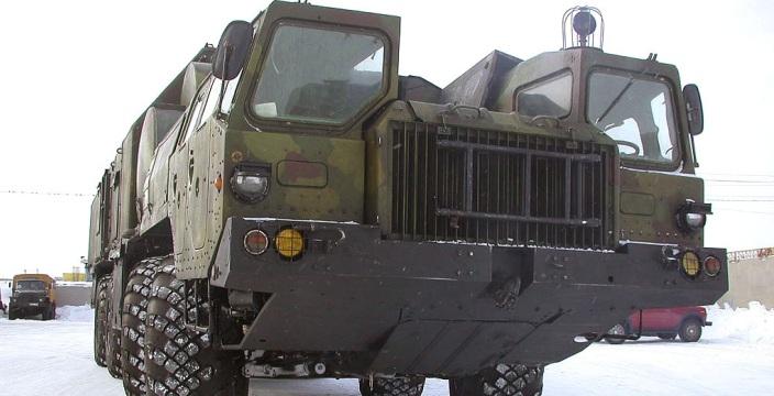 Ракетовоз, который не стал лесовозом МАЗ-543