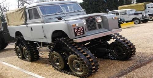 Решение по Шотландски. Cuthbertson Tracked Land Rover