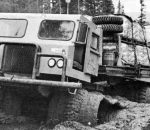 Роберт Нодуэлл и сын для Советского Союза. Nodwell RN200, Тайга, СССР