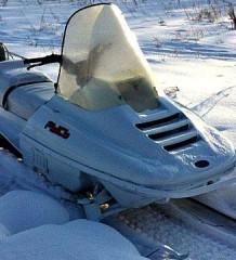 Русский снегоход Linx - Рысь 119 Уфимкого МПО