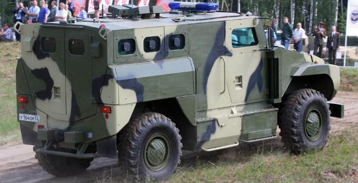 СПМ-3 Медведь - бронированная конструкция