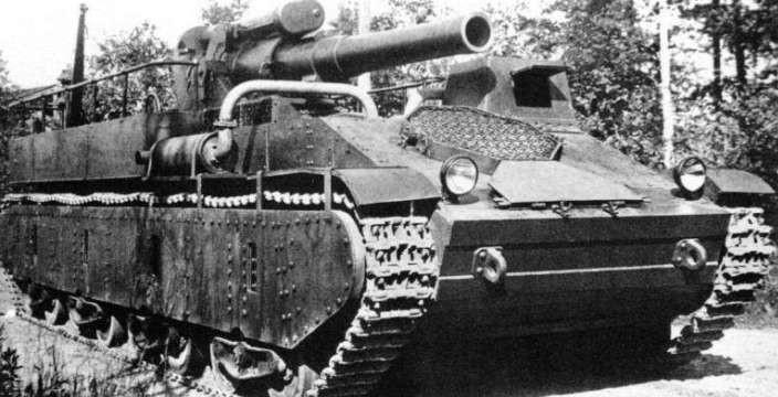СУ-14, попытка не пытка… С орудием Б-4 калибром 203 мм