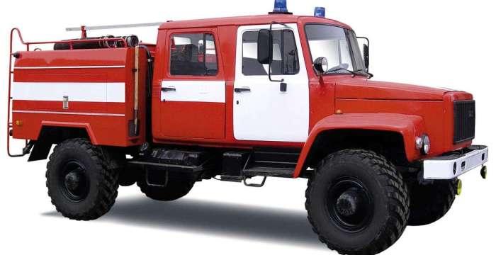 Садко — не былинный герой…Пожарная машина на базе ГАЗ-33081 САДКО