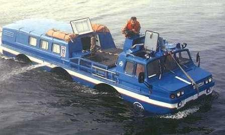 Синяя Птица Спасения. ЗИЛ-4906 на воде