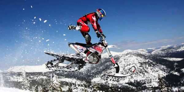 След от Timbersled mountain horse snowbike