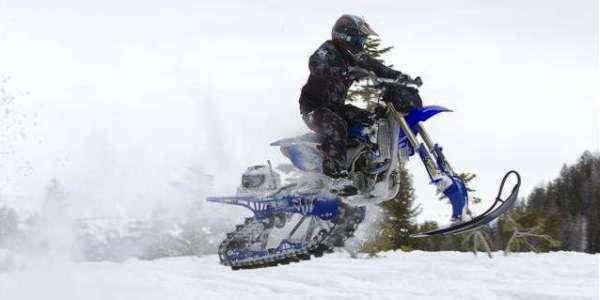След от Timbersled snowbike