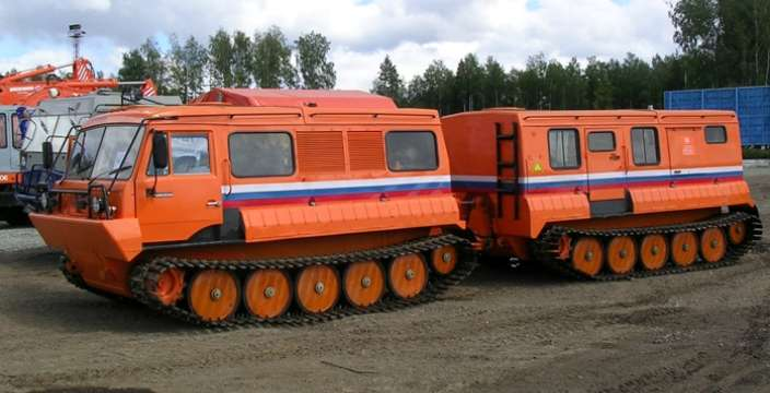 Снегоболотоход ТТМ-4902 Руслан