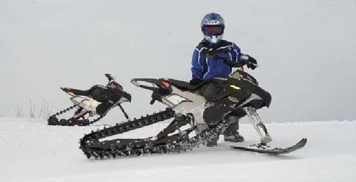Снегоход в классе Суперспорт для Подростков. Snow Hawk Hawk Jr.X 120