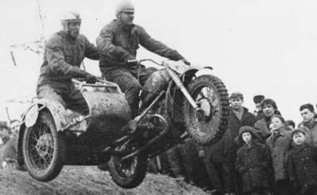 Советская Боевая, Гражданская и Спортивная мотолегенда. Кроссовый мотоцикл М-72К