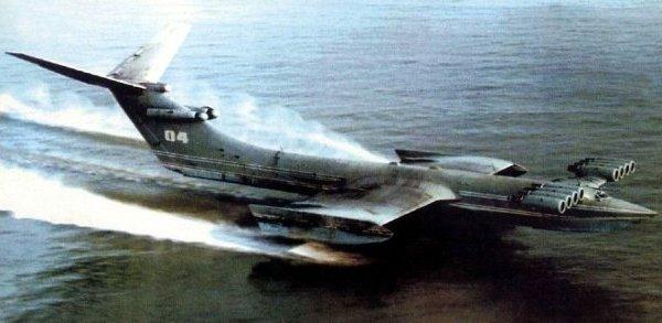 Советские исполины моря. Экраноплан КМ. Американцы испугались и назвали его Каспийский Монстр
